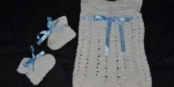 2 - B. Criado Enterito en crochet